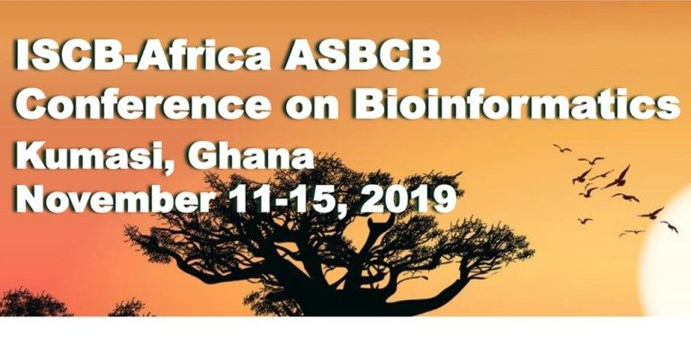 Do you apply for the ISCB Africa ASBCB 2019 conference taking place in Kumasi, Ghana, from November 11th to 13th?