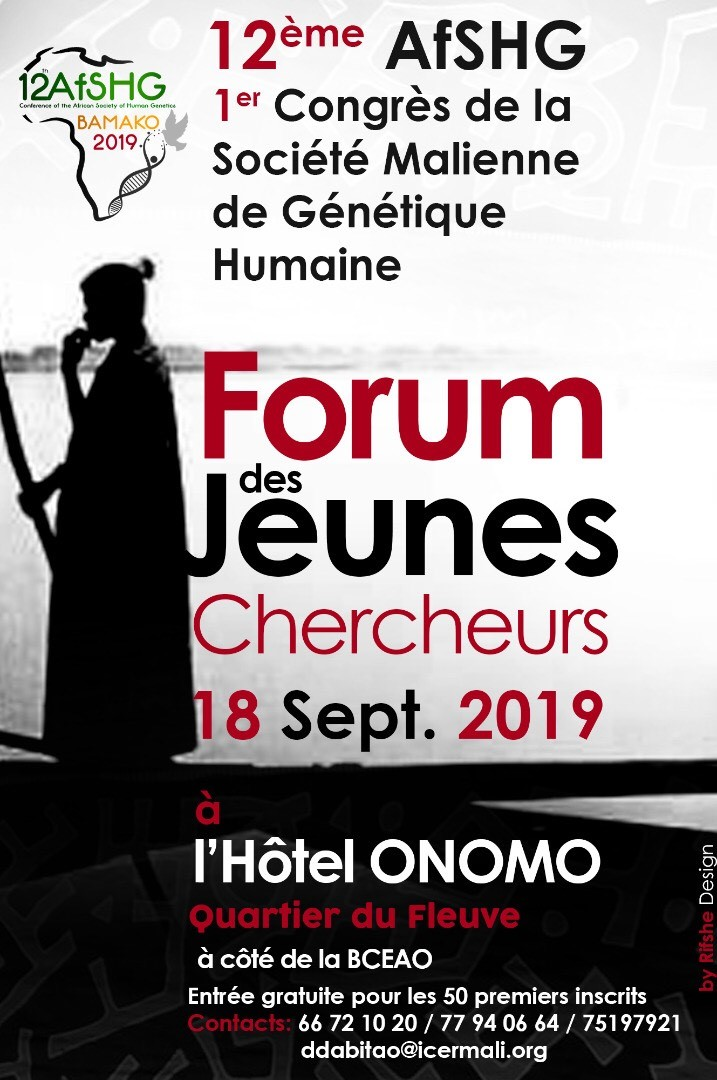12th AfSHG: Registration for the Young Investigators Forum of 18 September 2019 is open
